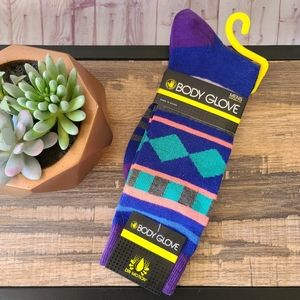 NWT Body Glove Casual Crew Socks
